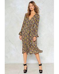 Nasty Gal - Summer Fever Floral Dress - Lyst