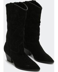 Nasty Gal - Ride Into The Distance Western Boot - Lyst