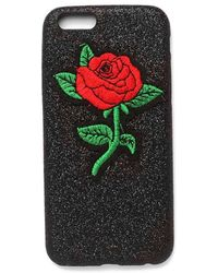 Nasty Gal - Roses Bloom For You Glitter Iphone 6/7/6+/7+ Case - Lyst