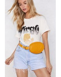 Nasty Gal - Wanted We Quilt This City Belt Bag - Lyst