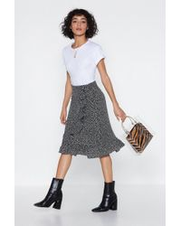 Nasty Gal - With All My Mutt Dalmatian Skirt - Lyst