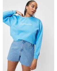 Nasty Gal - Plus Size Absofuckinglutely Graphic Sweatshirt - Lyst