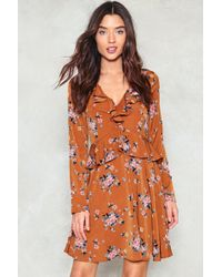 Nasty Gal - Where Do You Think You're Growing Floral Dress - Lyst