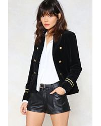 Nasty Gal - Leather Or Not Vegan Leather Shorts - Lyst