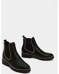 "Nasty Gal ""in It To Pin It Chelsea Boot"" - Black"