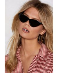 Nasty Gal - Meow You Doin' Cat-eye Shades - Lyst
