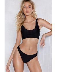 Nasty Gal - Heat Advisory Bikini Top - Lyst