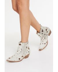 "Nasty Gal ""cow Does It Feel Pony Hair Boots"""