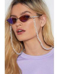 Nasty Gal - Bead It Glasses Chain - Lyst
