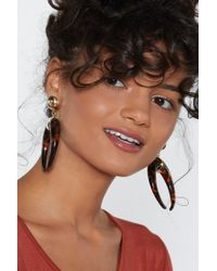 Nasty Gal - Blow Your Own Horn Earrings - Lyst