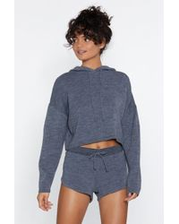 Nasty Gal - Warm Heart Sweater And Shorts Set - Lyst