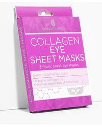 Nasty Gal Masques Tissu Yeux Au Collagène X3 Skin Academy - Rouge