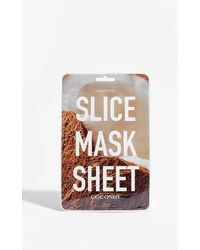 Nasty Gal Kocostar Play Slice Coconut Sheet Mask - Brown