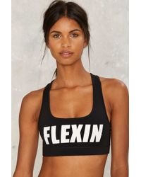 Private Party - Flexin Sports Bra - Lyst