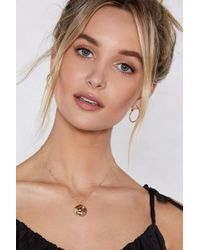 Nasty Gal - Capricorn Star Sign Necklace - Lyst