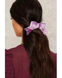 Lena Bernard - Secret Crush Velvet Hair Bow - Lyst