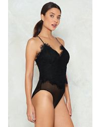 Nasty Gal - Close To My Sweetheart Bodysuit - Lyst
