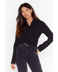 """Nasty Gal - """"she's Cut-out Of Control Cropped Jacket """" - Lyst"""