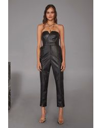 "Nasty Gal ""living For Love High-waisted Faux Leather Pants"" - Black"
