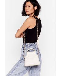 Nasty Gal Want Don't Bucket Up Crossbody Bag - Multicolor