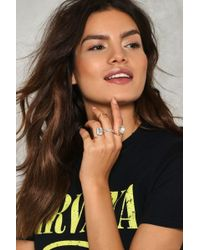 Nasty Gal | The More The Merrier 5-pc Ring Set The More The Merrier 5-pc Ring Set | Lyst