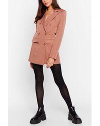 Nasty Gal Weak At The Knees High-waisted Tights - Black