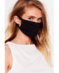 Nasty Gal Masque Facial Fashion Tu Es La Prunelle De Mes Yeux - Noir