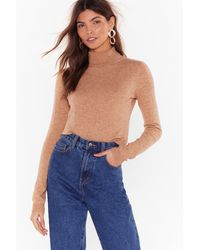"""Nasty Gal """"race Against The Mock Sweater"""" - Multicolour"""