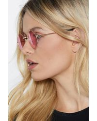 Nasty Gal - Lucy In The Sky With Diamonds Shades - Lyst