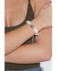 "Nasty Gal ""shell Bracelet"" - White"
