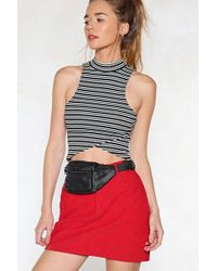 Nasty Gal - Me First Vegan Leather Fanny Pack Me First Vegan Leather Fanny Pack - Lyst