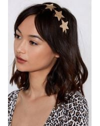 Nasty Gal - Head In The Clouds Star Headband - Lyst