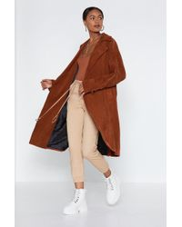 Nasty Gal - Cover Story Trench Coat - Lyst