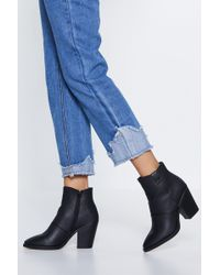 Nasty Gal - You're Mono In A Million Western Boot - Lyst
