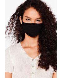 Nasty Gal Masque Facial Fashion - Noir
