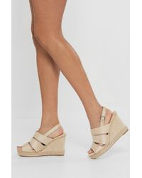 Nasty Gal - Immi Cut Out Wedges - Lyst