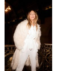 Nasty Gal - I Know The Feeling Faux Fur Shaggy Coat - Lyst