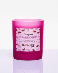 Nasty Gal Mallows I Am Enough Watermelon Candle - Pink