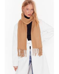 Nasty Gal That Ain't The Scarf Of It Fringed Scarf - Multicolour