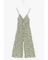 Nasty Gal - With An Added Twist Cut-out Jumpsuit - Lyst
