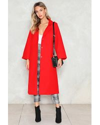 Nasty Gal - Longing For This Duster Coat - Lyst