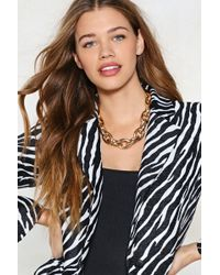 Nasty Gal - Mrs T Chunky Necklace - Lyst