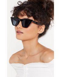 "Nasty Gal ""cat Eye Sunglasses"" - Black"