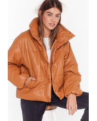 Nasty Gal - The Answer To Our Layers Padded Jacket - Lyst