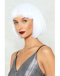 Nasty Gal - Party Bob Wig Party Bob Wig - Lyst
