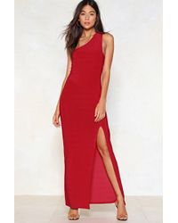 "Nasty Gal - ""the Perfect Slit Maxi Dress"" - Lyst"
