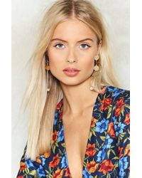 Nasty Gal - Another Round Drop Earrings - Lyst