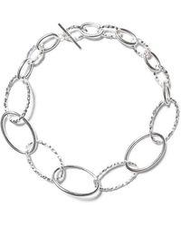 All_blues - ́ellipse ́ Large Necklace - Lyst