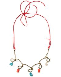 Marni - Necklace With Spheres - Lyst