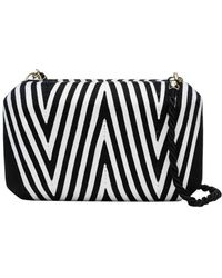 Natori | Beatriz Clutch Black/white | Lyst